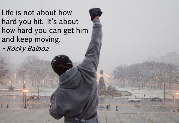 Fight like Rocky Balboa